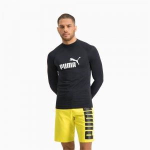 Лонгслив Swim Men Long Sleeve Rash Guard PUMA. Цвет: черный