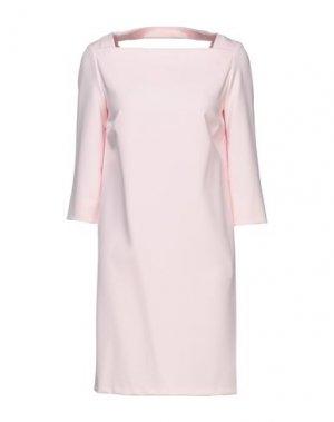 Короткое платье ATOS LOMBARDINI. Цвет: светло-розовый