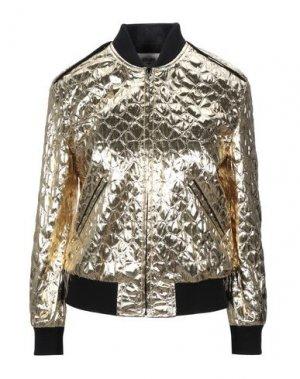 Куртка CELINE. Цвет: золотистый