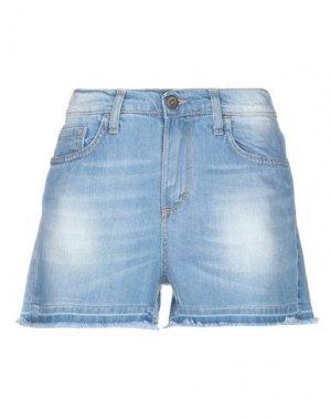 Джинсовые шорты ..,MERCI. Цвет: синий