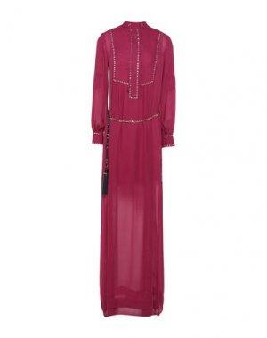 Длинное платье BABYLON. Цвет: пурпурный