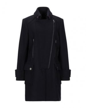Пальто ALBA CONDE. Цвет: темно-синий