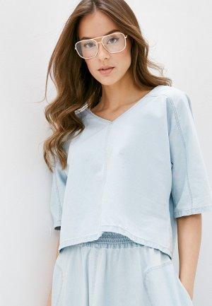 Блуза Drykorn. Цвет: голубой