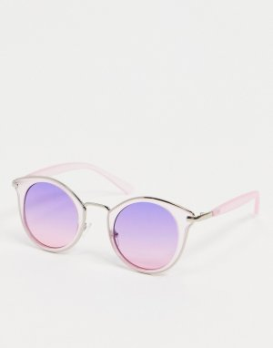 Фиолетовые солнцезащитные очки в стиле «кошачий глаз» -Фиолетовый цвет AJ Morgan