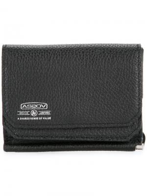 Бумажник на молнии As2ov. Цвет: черный