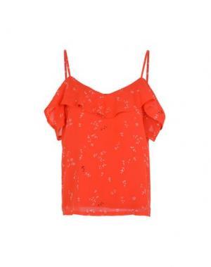 Блузка MINIMUM. Цвет: красный