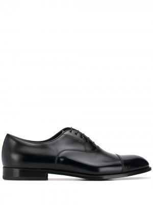 Doucals оксфорды на шнуровке Doucal's. Цвет: черный
