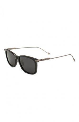 Солнцезащитные очки Jimmy Choo. Цвет: чёрный