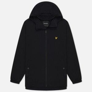 Мужская куртка ветровка Zip Through Hooded Lyle & Scott. Цвет: чёрный