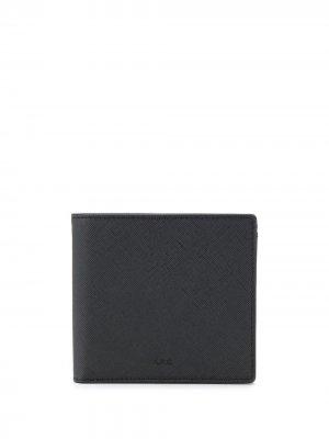 Складной кошелек A.P.C.. Цвет: черный