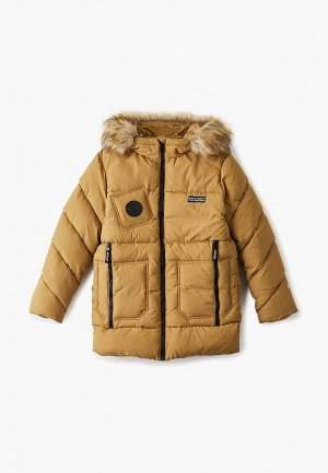 Куртка утепленная АксАрт. Цвет: желтый