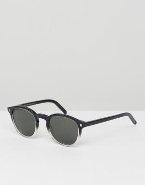 Квадратные солнцезащитные очки Robotnik-Черный Monokel Eyewear