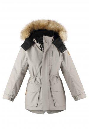 Куртка tec Naapuri Коричневая Reima. Цвет: коричневый
