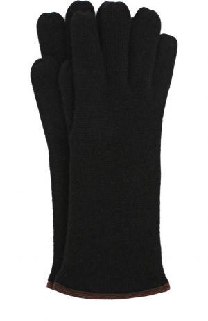 Кашемировые перчатки Svevo. Цвет: черный