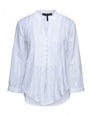 Pубашка BCBGMAXAZRIA. Цвет: белый