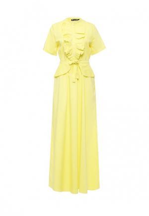 Платье Love & Light. Цвет: желтый