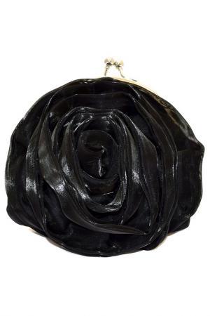 Сумка-клатч Valentino. Цвет: черный