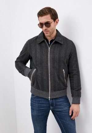 Куртка утепленная Cortigiani. Цвет: коричневый