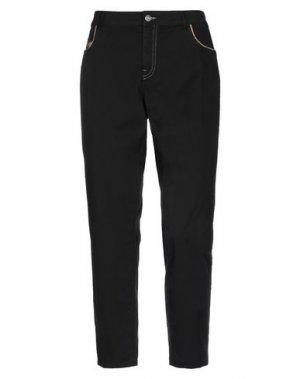 Повседневные брюки DONNAVVENTURA by ALVIERO MARTINI 1a CLASSE. Цвет: черный
