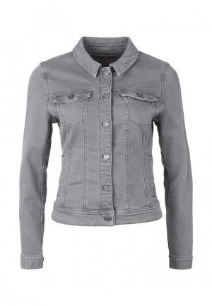Куртка джинсовая s.Oliver. Цвет: серый