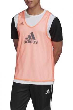 Манишка Adidas Trg BIB 14. Цвет: красный