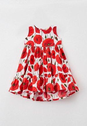 Платье Juno. Цвет: красный