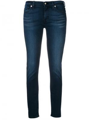 Классические джинсы скинни 7 For All Mankind