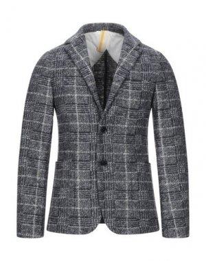 Пиджак GAZZARRINI. Цвет: стальной серый