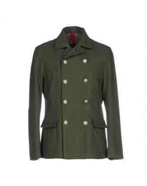 Пальто AT.P.CO. Цвет: зеленый-милитари