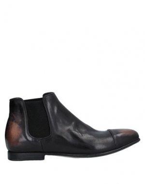 Полусапоги и высокие ботинки ALBERTO FASCIANI. Цвет: стальной серый