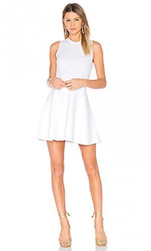 Мини платье keating A.L.C.. Цвет: белый
