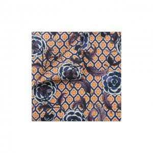 Шелковый платок Eton. Цвет: синий