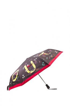 Зонт Moschino Love. Цвет: черный