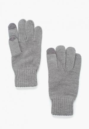 Перчатки Anta Lifestyle. Цвет: серый