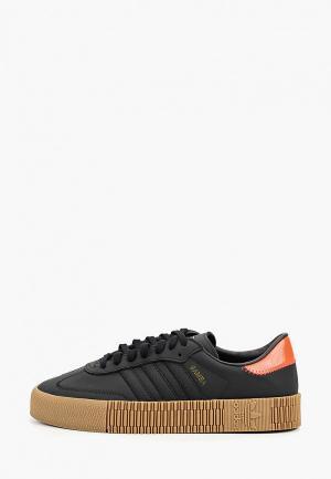 Кеды adidas Originals SAMBAROSE W. Цвет: черный