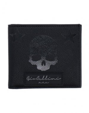 Бумажник GIO CELLINI MILANO. Цвет: черный