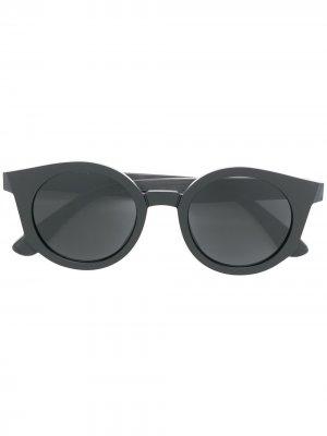 Солнцезащитные очки из коллаборации с Maison Margiela MYKITA+MAISON. Цвет: черный