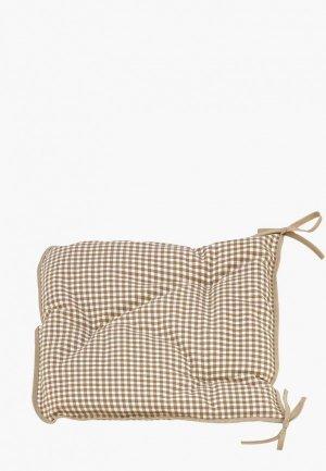 Подушка на стул Kauffort Kimberly. Цвет: коричневый