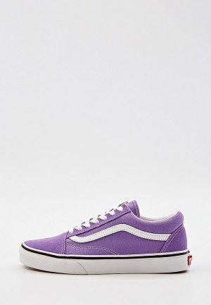 Кеды Vans UA Old Skool. Цвет: фиолетовый