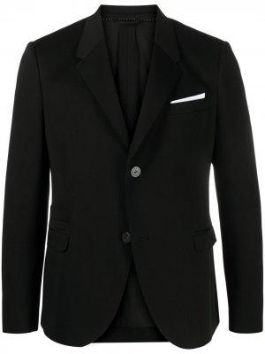 Пиджак строгого кроя Neil Barrett. Цвет: черный