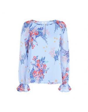 Блузка MINIMUM. Цвет: небесно-голубой