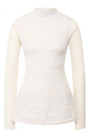 Пуловер By Malene Birger. Цвет: белый