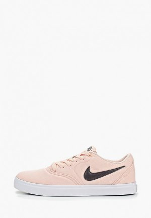 Кеды Nike WOMENS SB CHECK SOLARSOFT CANVAS SKATEBOARDING SHOE. Цвет: розовый
