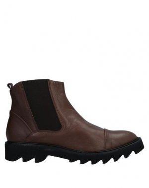 Полусапоги и высокие ботинки ENTOURAGE. Цвет: какао