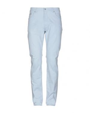Повседневные брюки GANT. Цвет: небесно-голубой