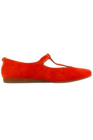 Туфли Flip Flop. Цвет: красный