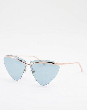 Солнцезащитные очки «кошачий глаз» 453/S-Золотистый Marc Jacobs