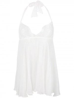 Комбинация Ava Babydoll Gilda & Pearl. Цвет: белый