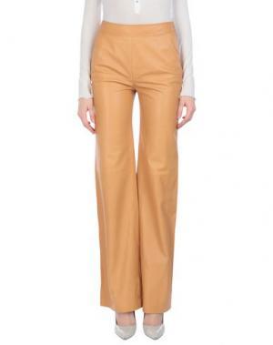 Повседневные брюки DEREK LAM. Цвет: верблюжий