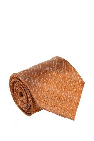 Галстук Basile. Цвет: коричневый, белый, серый